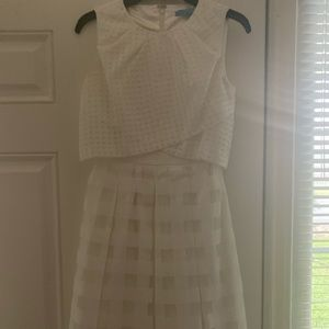Antonio Milani white dress